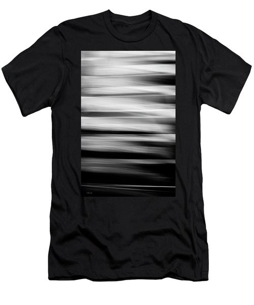 Abstract Waves Men's T-Shirt (Athletic Fit)