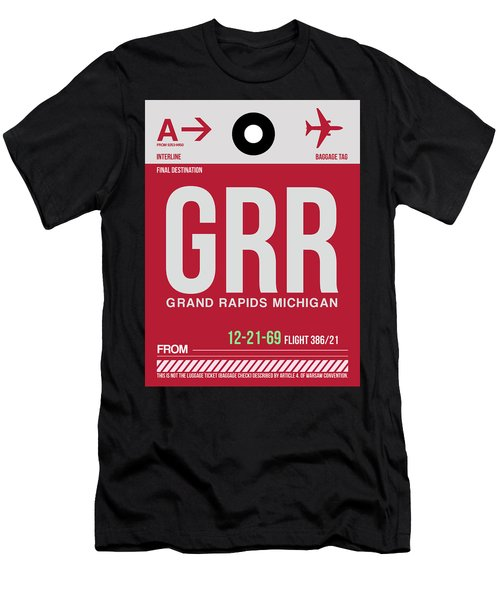 Grr Grand Rapids Luggage Tag II Men's T-Shirt (Athletic Fit)