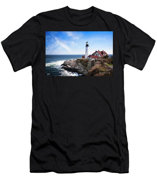 Men's T-Shirt (Athletic Fit) featuring the photograph Guardian Of The Sea by Scott Kemper