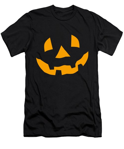 Halloween Pumpkin Tee Shirt Men's T-Shirt (Athletic Fit)
