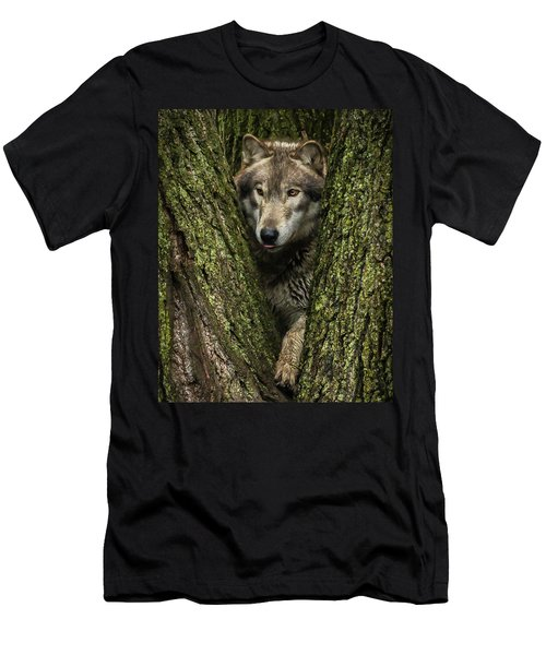 Hangin In The Tree Men's T-Shirt (Athletic Fit)