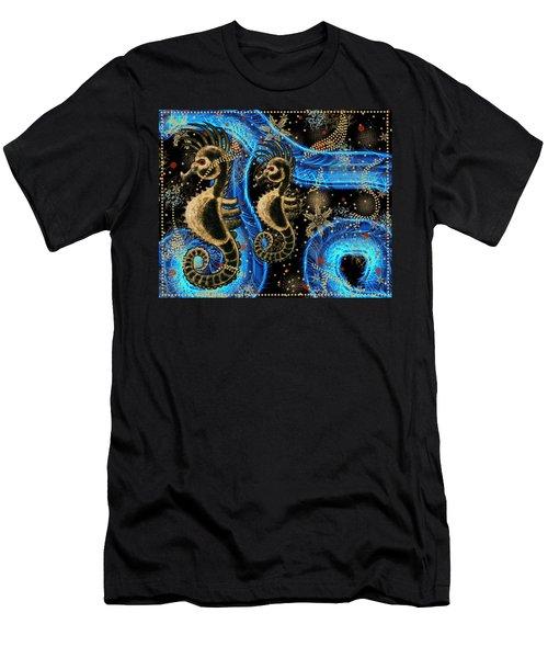 Hehorse Digital Addition 5 Men's T-Shirt (Athletic Fit)