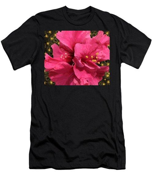 Hibiscus Pollen Men's T-Shirt (Athletic Fit)