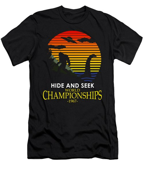 Hide And Seek World Championshios 1967 Men's T-Shirt (Athletic Fit)