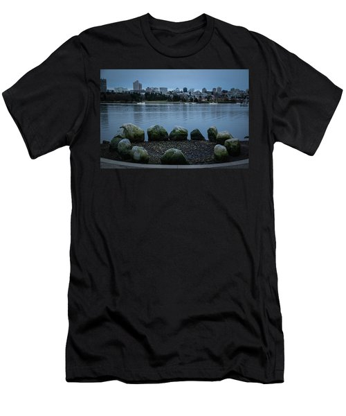 Men's T-Shirt (Athletic Fit) featuring the photograph High And Low Tide by Juan Contreras