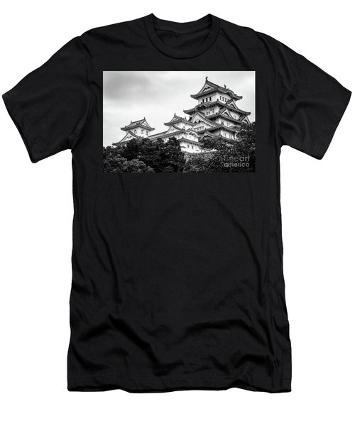 Himeji Castle, Japan Men's T-Shirt (Athletic Fit)