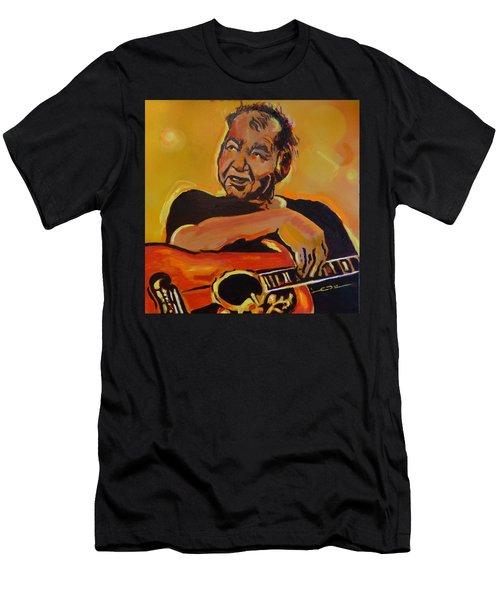 His Pumpkin's Little Daddy Men's T-Shirt (Athletic Fit)