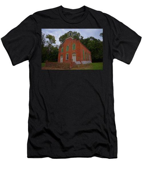 Historic Church Image Men's T-Shirt (Athletic Fit)