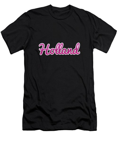 Holland #holland Men's T-Shirt (Athletic Fit)