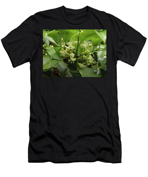 Holly Blossoms Men's T-Shirt (Athletic Fit)