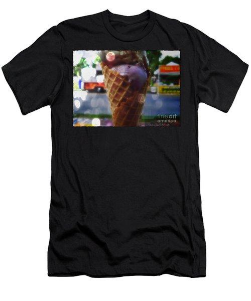 Icecream Dreams Men's T-Shirt (Athletic Fit)