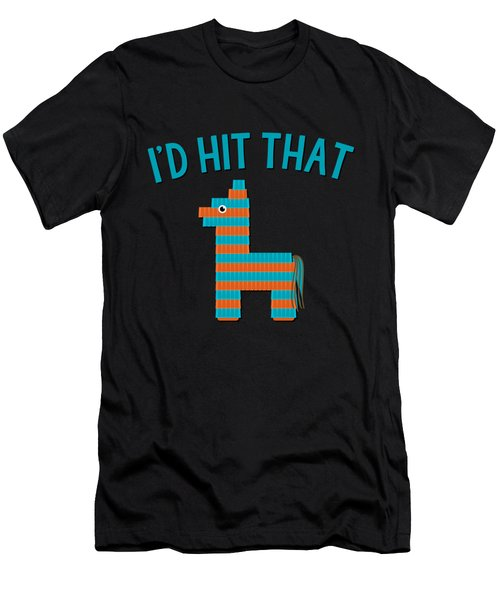 Id Hit That Pinata Men's T-Shirt (Athletic Fit)