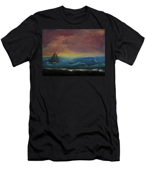 Impressions Of The Sea Men's T-Shirt (Athletic Fit)