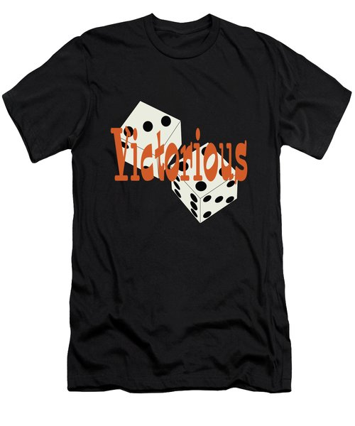 Inspirational Victorious Tee Design Victorious Men's T-Shirt (Athletic Fit)