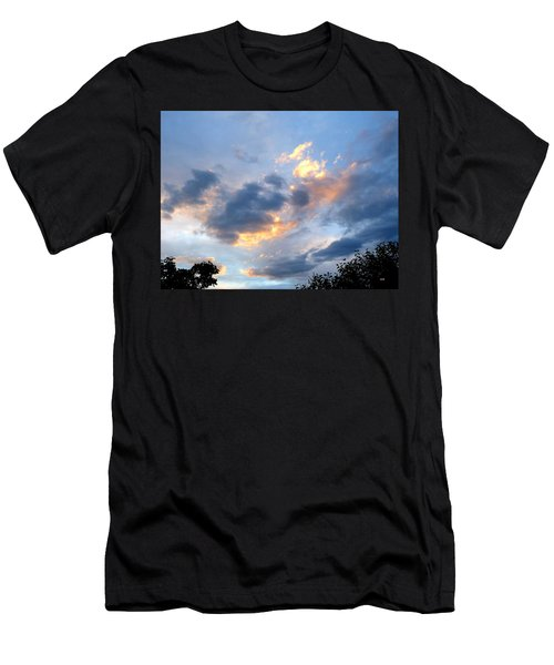 Inspiring Sky Men's T-Shirt (Athletic Fit)