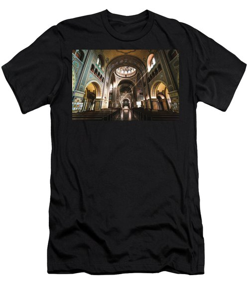 Interior Of The Votive Cathedral, Szeged, Hungary Men's T-Shirt (Athletic Fit)