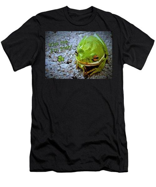 Irish Frog Men's T-Shirt (Athletic Fit)