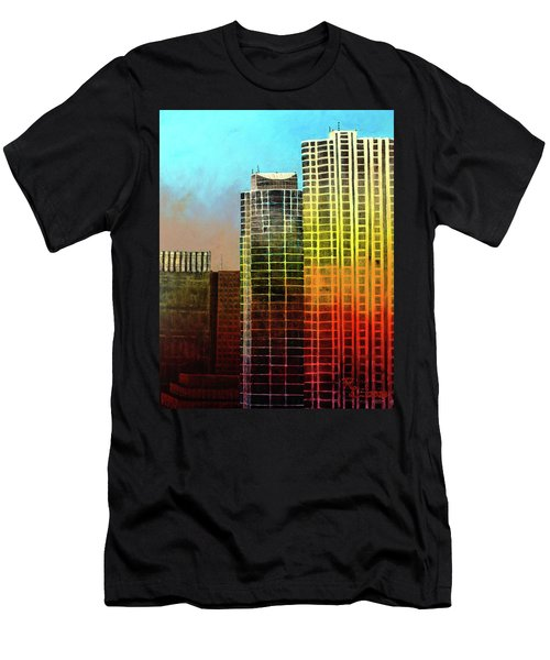It Takes A Rainbow Men's T-Shirt (Athletic Fit)