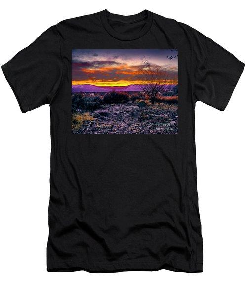 January Sunrise Men's T-Shirt (Athletic Fit)
