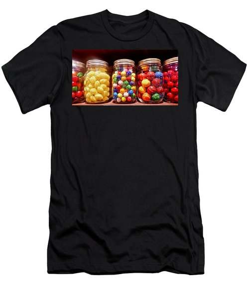 Men's T-Shirt (Athletic Fit) featuring the photograph Jaw Breakers by Joan Reese
