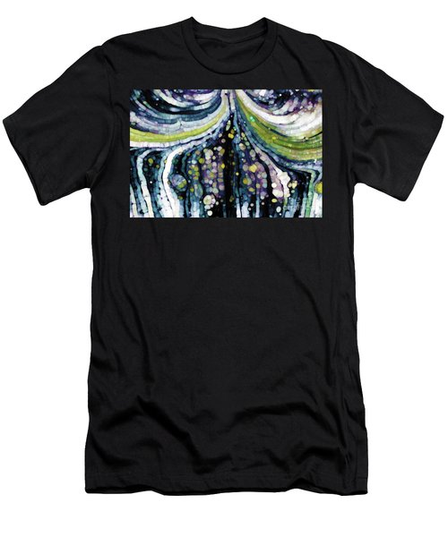 Men's T-Shirt (Athletic Fit) featuring the painting Jesus Christ, The Savior. Luke 2 11 by Mark Lawrence