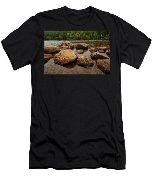 Jordon Pond Boulders Men's T-Shirt (Athletic Fit)