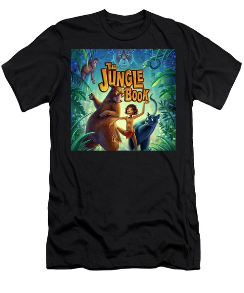 Jungle Book Men's T-Shirt (Athletic Fit)