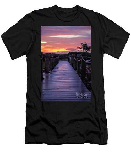 Just Another Day In Paradise Men's T-Shirt (Athletic Fit)