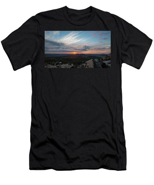 Just Before Sundown Men's T-Shirt (Athletic Fit)