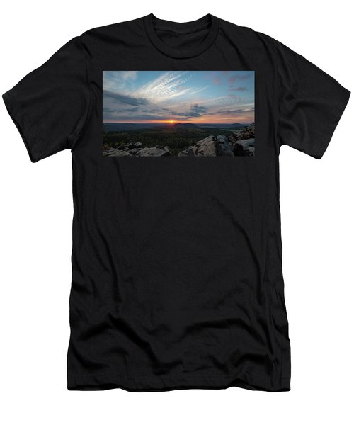 Just Before Sundown Men's T-Shirt (Athletic Fit)