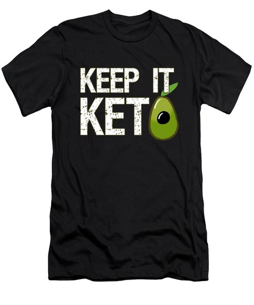 Keep It Keto Men's T-Shirt (Athletic Fit)