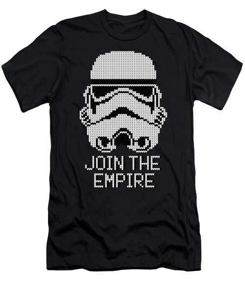 Knitted Storm Trooper - Join The Empire Men's T-Shirt (Athletic Fit)