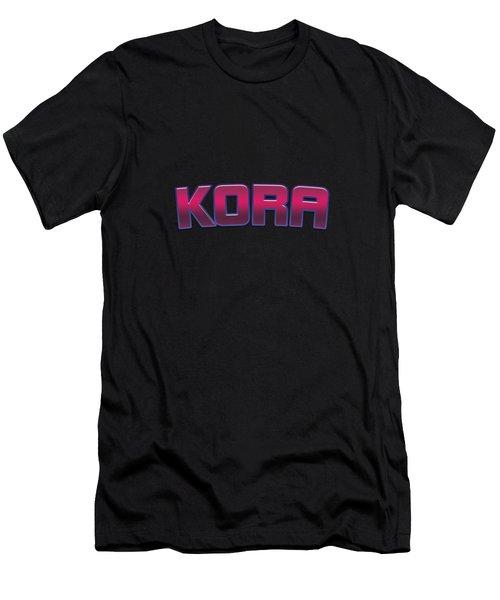 Kora #kora Men's T-Shirt (Athletic Fit)