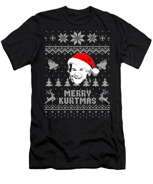 Kurt Russell Merry Kurtmas Christmas Shirt Men's T-Shirt (Athletic Fit)