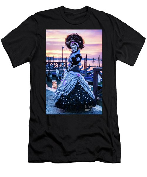 Lady In Black Men's T-Shirt (Athletic Fit)