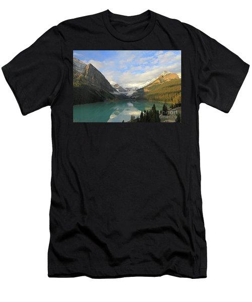 Lake Louise At Dawn Men's T-Shirt (Athletic Fit)