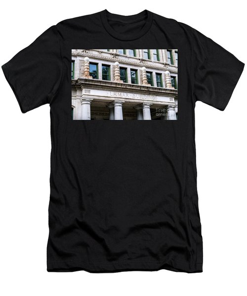 Lamar Building - Augusta Ga Men's T-Shirt (Athletic Fit)