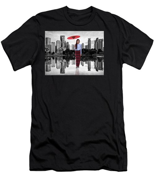 Let The City Be Your Stage Men's T-Shirt (Athletic Fit)