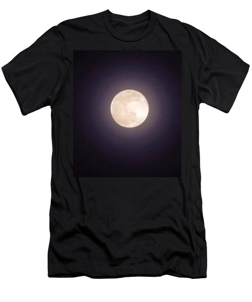 Men's T-Shirt (Athletic Fit) featuring the photograph Libra Full Moon by Judy Kennedy