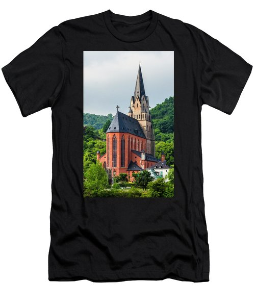 Liebfrauenkirche Oberwesel Men's T-Shirt (Athletic Fit)