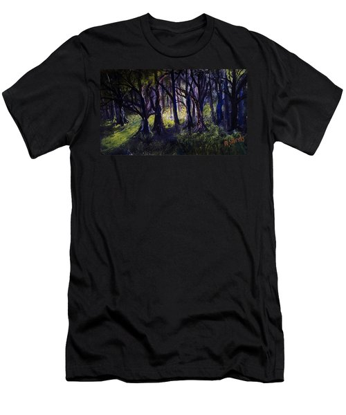 Light In The Forrest Men's T-Shirt (Athletic Fit)