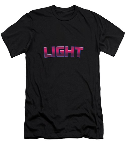 Light #light Men's T-Shirt (Athletic Fit)