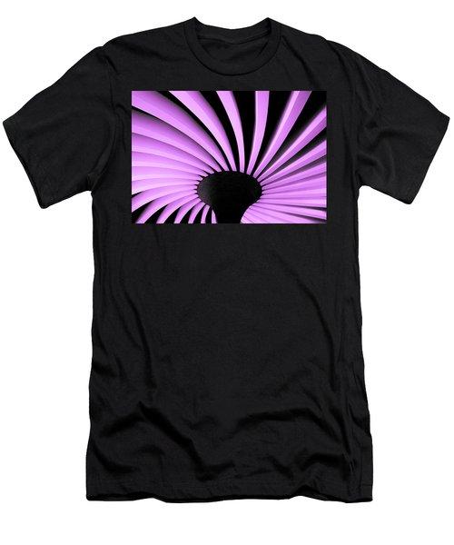 Lilac Fan Ceiling Men's T-Shirt (Athletic Fit)