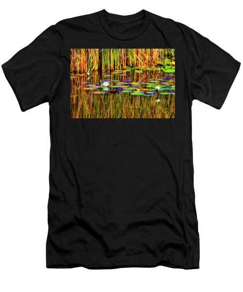 Lilypond Reflections Men's T-Shirt (Athletic Fit)