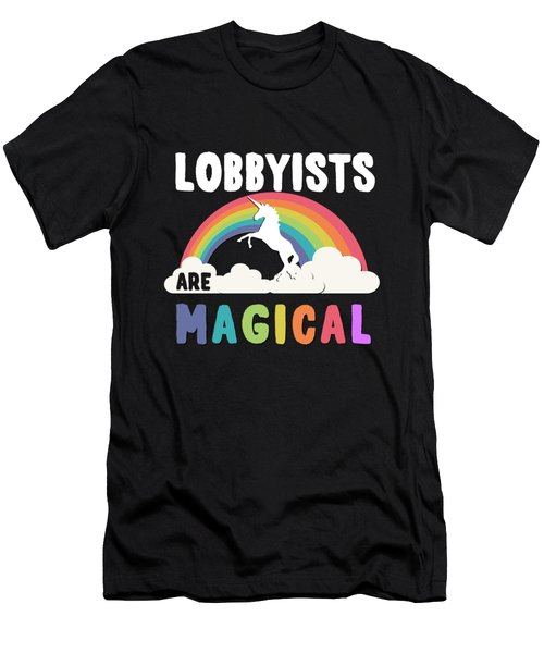 Lobbyists Are Magical Men's T-Shirt (Athletic Fit)
