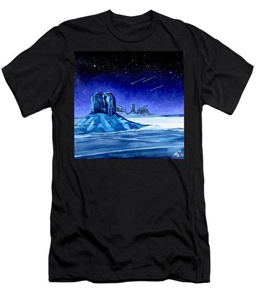 Lone Monument Men's T-Shirt (Athletic Fit)