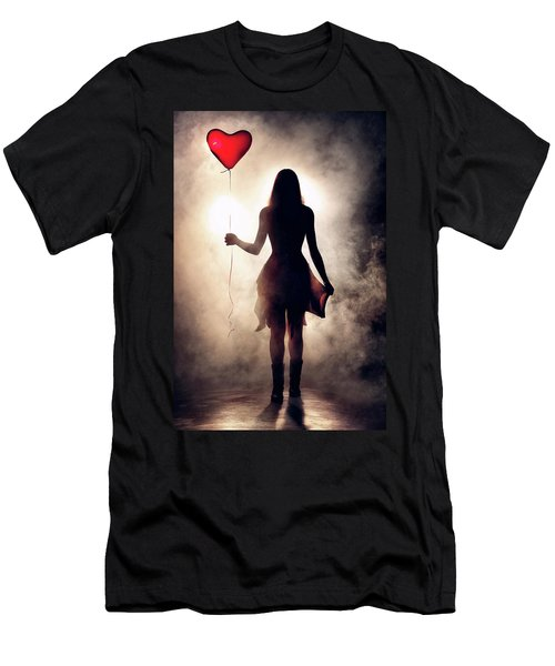Lonely Heart Men's T-Shirt (Athletic Fit)