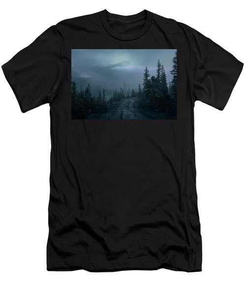 Lonely Trails Men's T-Shirt (Athletic Fit)
