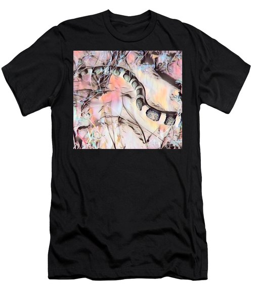 Men's T-Shirt (Athletic Fit) featuring the photograph Longnosed Snake - Rhinocheilus Lecontei by Judy Kennedy