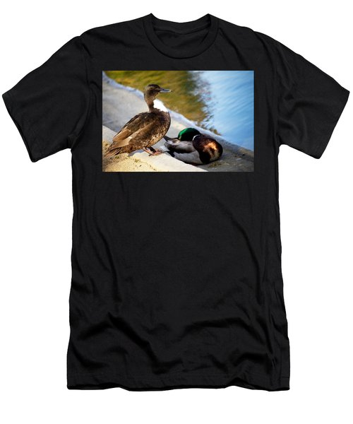 Looking Ahead Men's T-Shirt (Athletic Fit)
